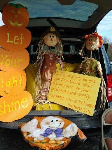 Church Halloween Party Ideas  Church trunk or treat idea Halloween Pinterest