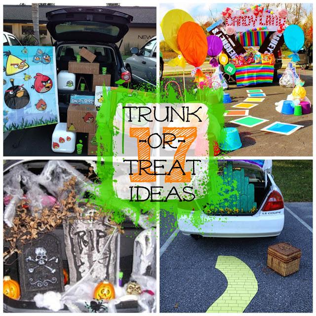 Church Halloween Party Ideas  17 Creative Trunk or Treat Ideas I Dig Pinterest