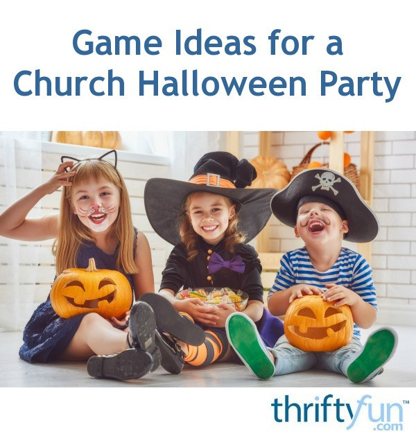 Church Halloween Party Ideas  Game Ideas for a Church Halloween Party