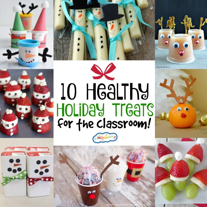 Classroom Christmas Party Ideas  10 Healthy Holiday Treats for the Classroom MOMables