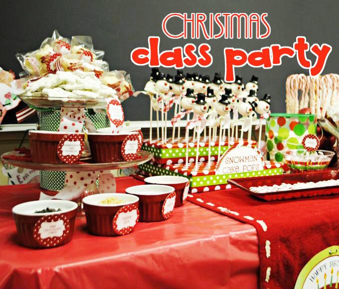 Classroom Christmas Party Ideas  Amanda s Parties To Go Customer s Classroom Christmas Party