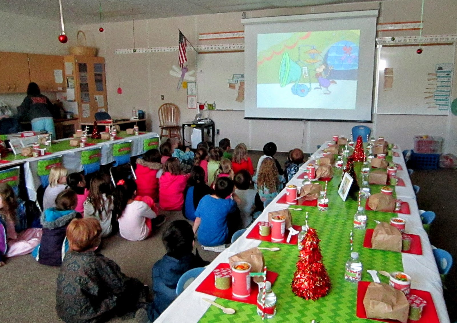 Classroom Christmas Party Ideas  Sweeten Your Day Events Grinch Classroom Party