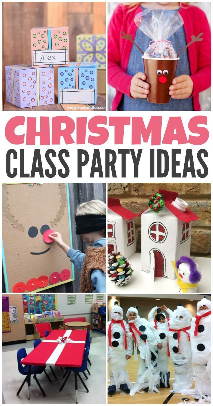 Classroom Christmas Party Ideas  The 25 best Classroom party ideas ideas on Pinterest
