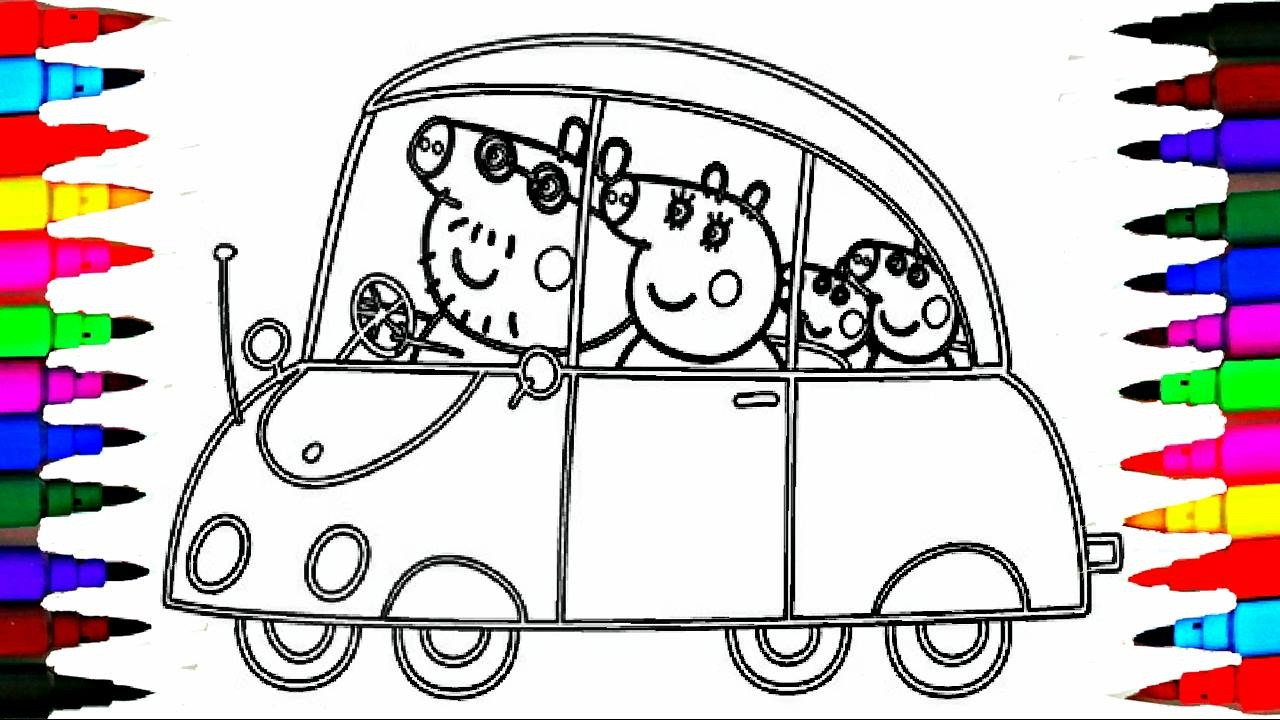 Coloring Pages For Kids Games  PEPPA PIG Coloring Book Pages Kids Fun Art Activities