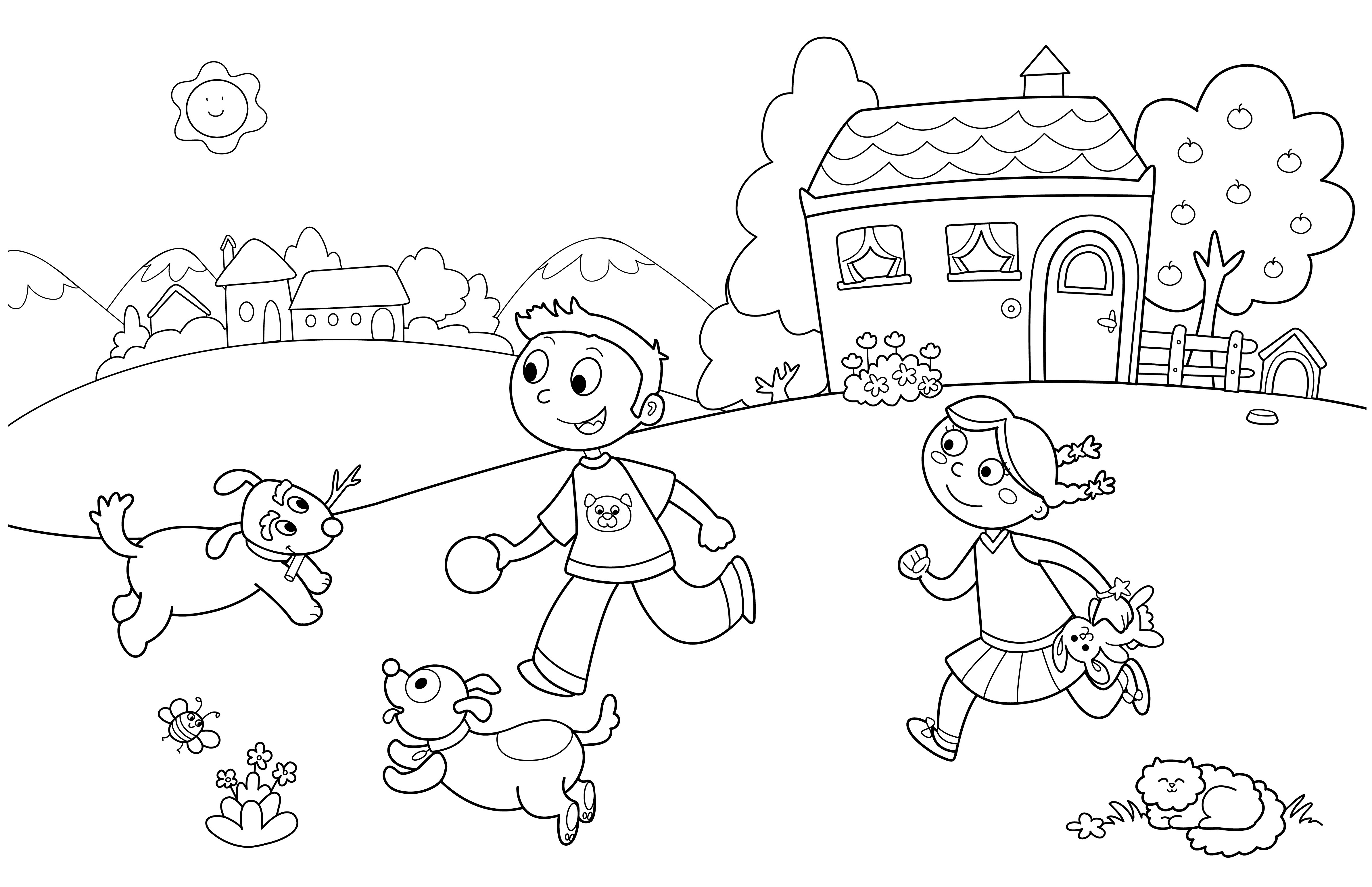 Coloring Pages Kids  Spring Coloring Pages Best Coloring Pages For Kids