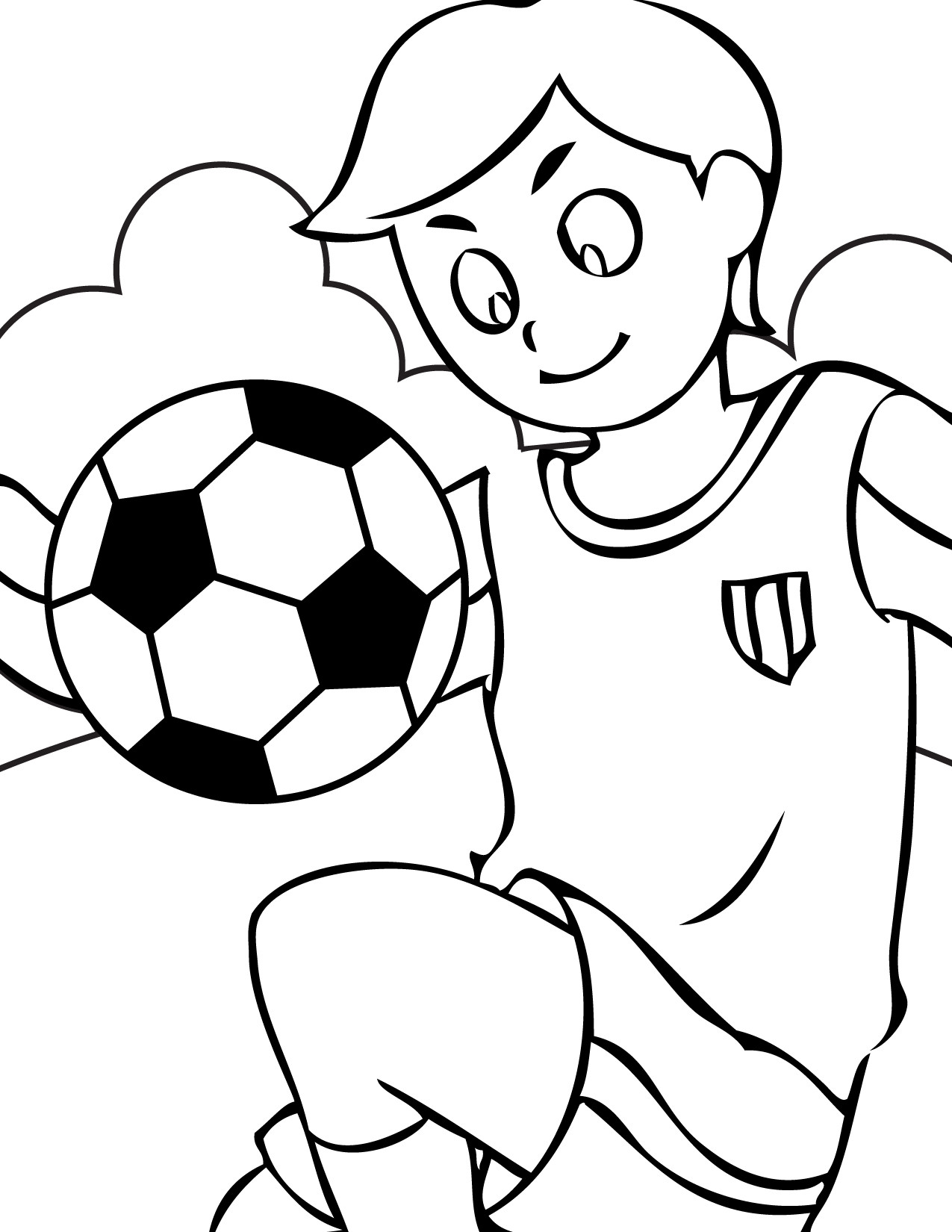 Coloring Pages Kids  Free Printable Sports Coloring Pages For Kids