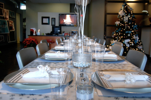 Company Christmas Party Ideas  Winter Wonderland Themed pany Christmas Party on a $50