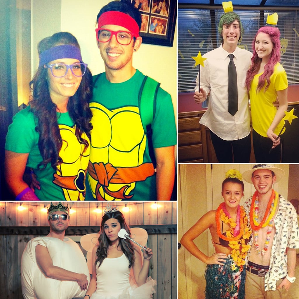Couples Costumes DIY  Cheap DIY Halloween Costumes For Couples