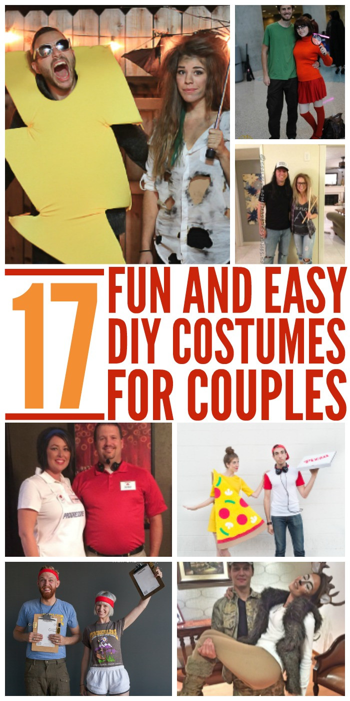 Couples Costumes DIY  56 Easy Diy Couples Costumes 15 Couple Halloween Costumes