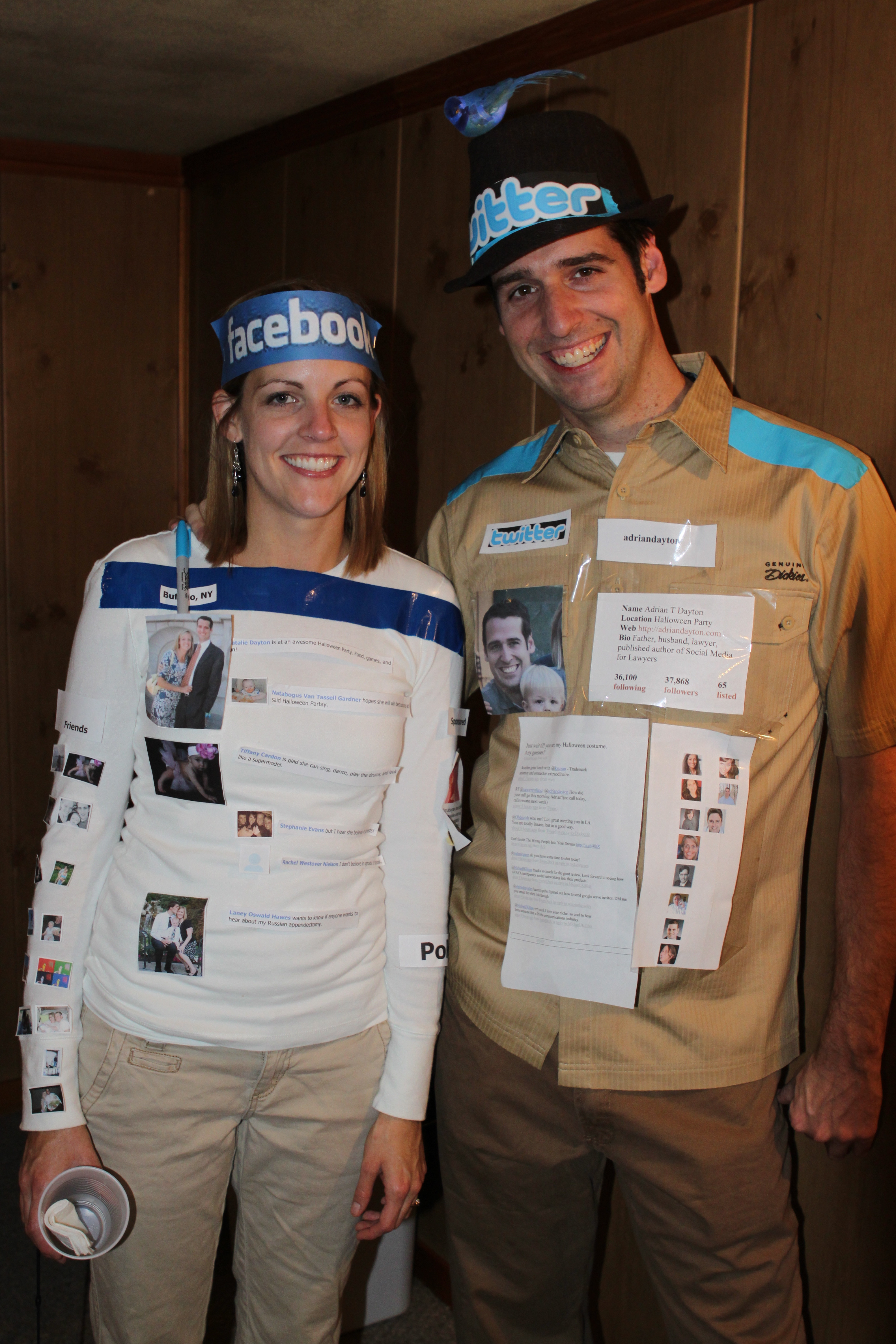 Couples Costumes DIY  The Social Media Couple Costume