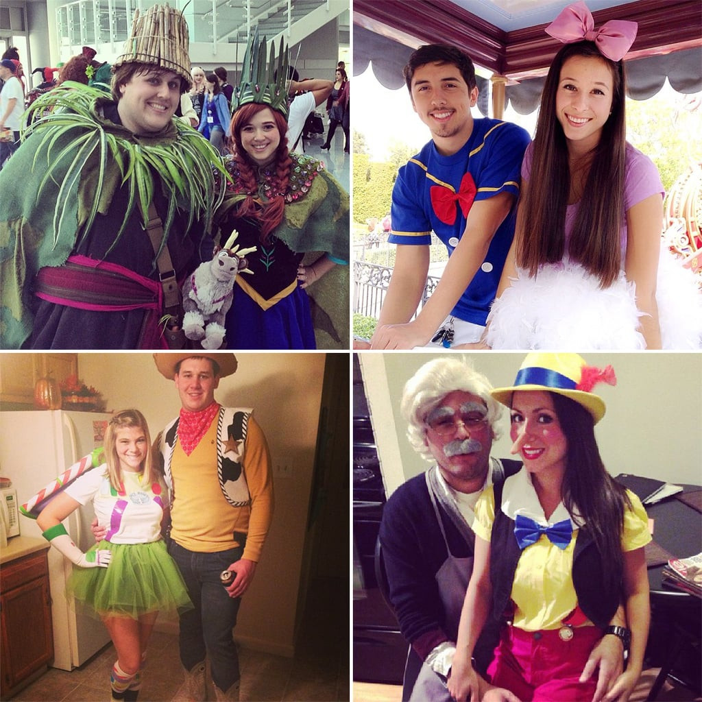 Couples Costumes DIY  DIY Disney Costumes for Couples