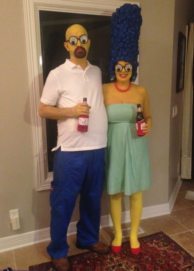 Couples Costumes DIY  120 Creative DIY Couples Costumes for Halloween