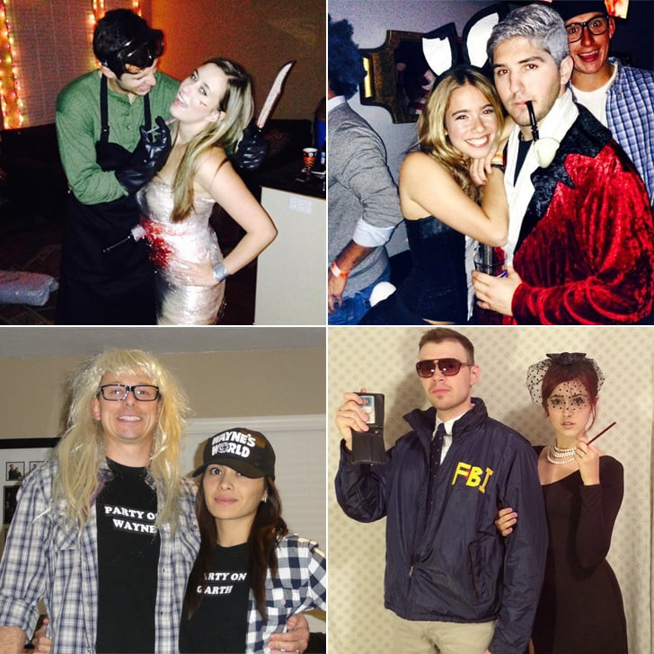 Couples Costumes DIY  Homemade Halloween Couples Costumes