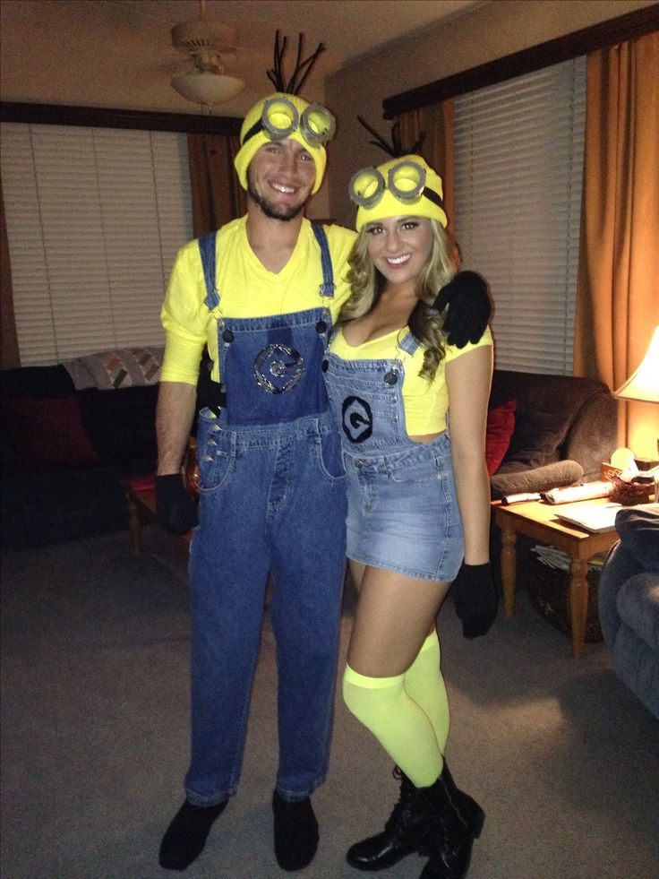 Couples Costumes DIY  Best 25 Homemade minion costumes ideas on Pinterest