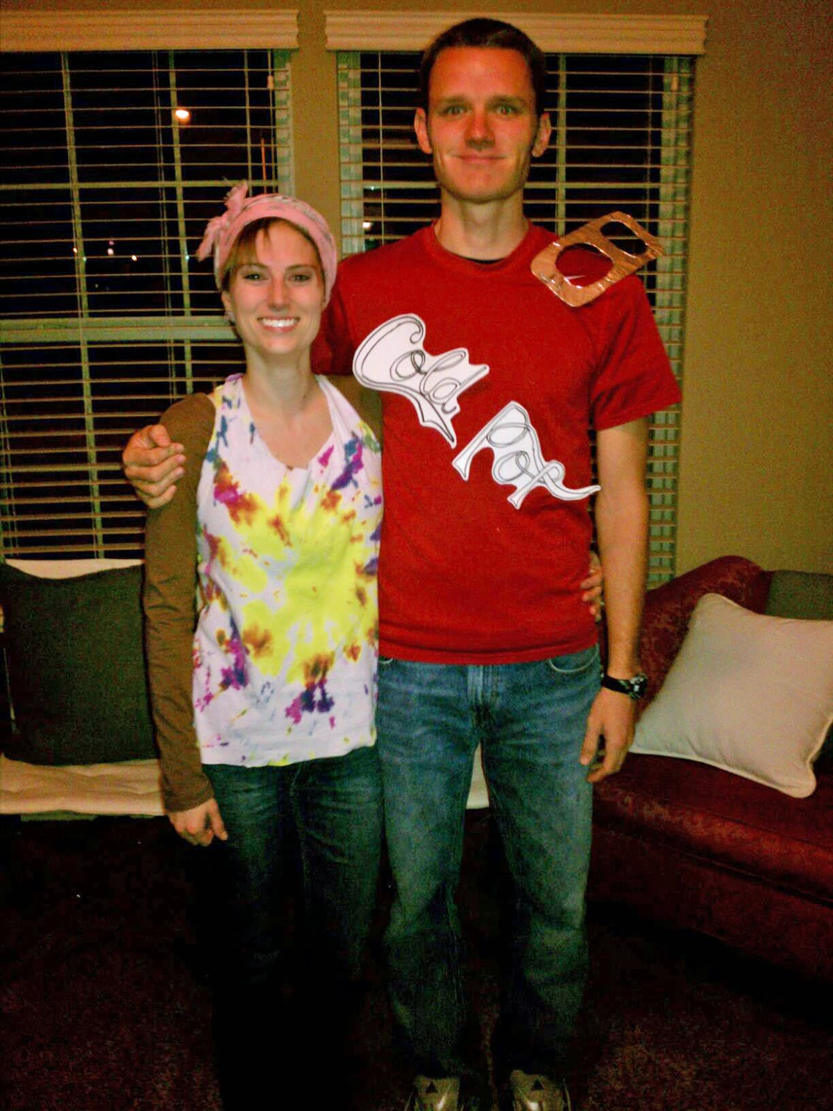 Couples Costumes DIY  Katie in Kansas DIY to DIY Halloween Costumes