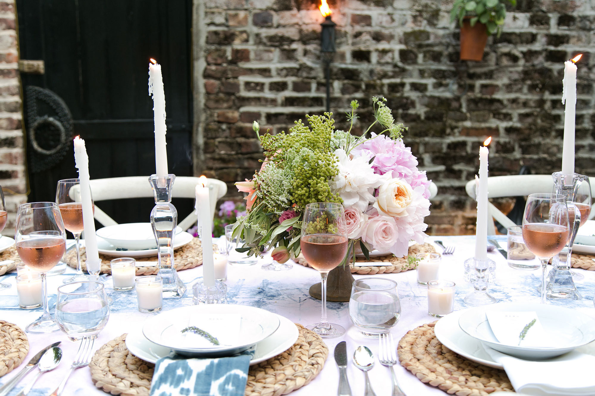 Couples Dinner Party Ideas  A Backyard Dinner Party in Charleston Entertaining Idea