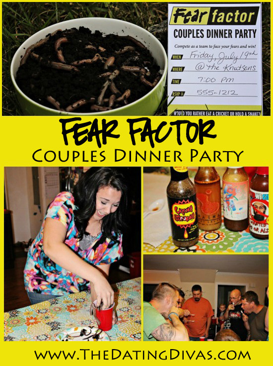 Couples Dinner Party Ideas  Fear Factor Couples Game Night