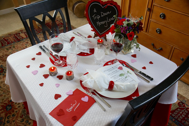 Couples Dinner Party Ideas  A Romantic Dinner Idea A Trip Down Memory Lane