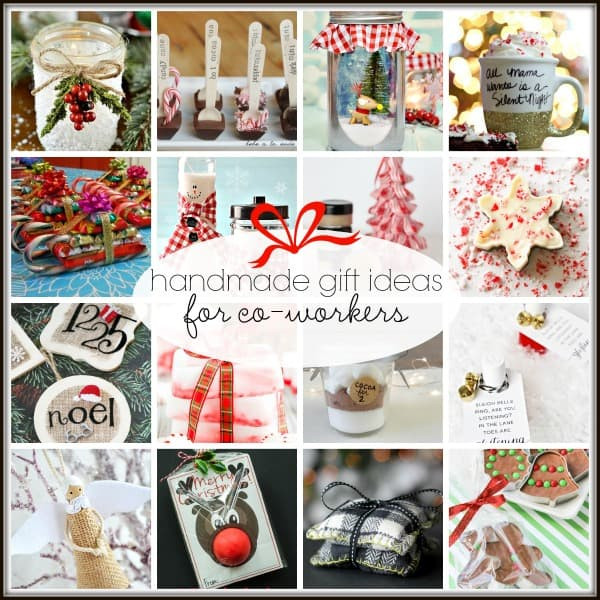 Coworker Christmas Gift Ideas  20 Handmade Gift Ideas for Co Workers