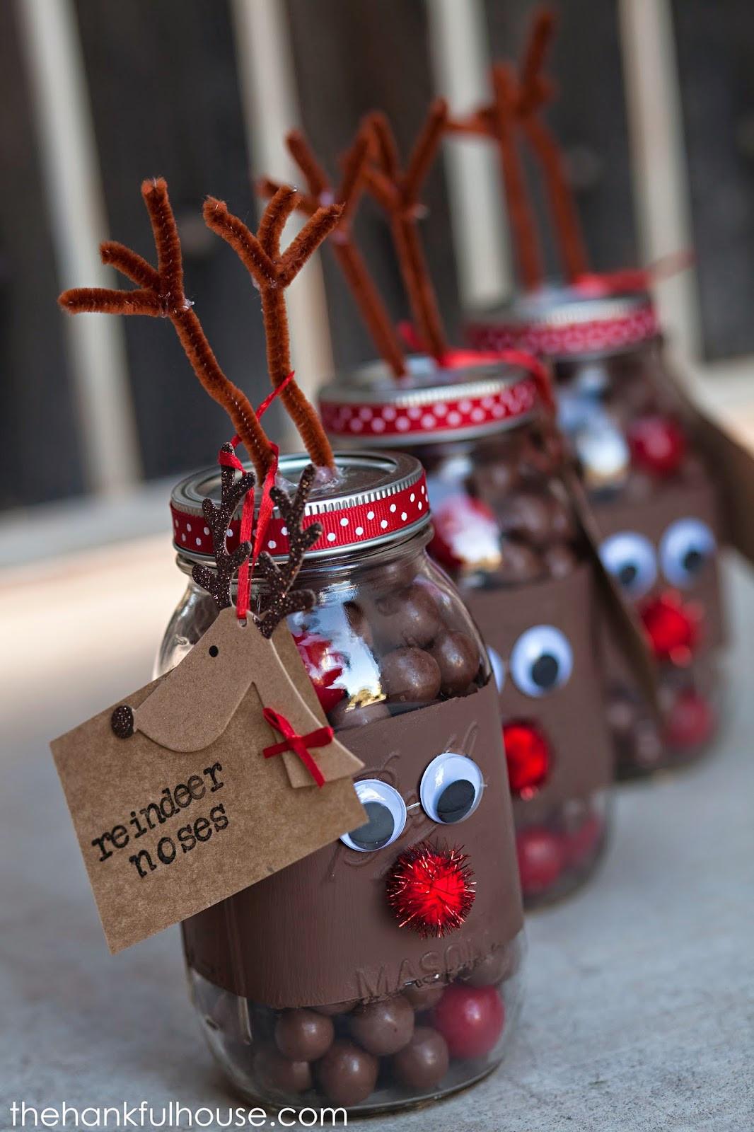 Craft Ideas For Christmas Gifts  Christmas Mason Jar Gifts