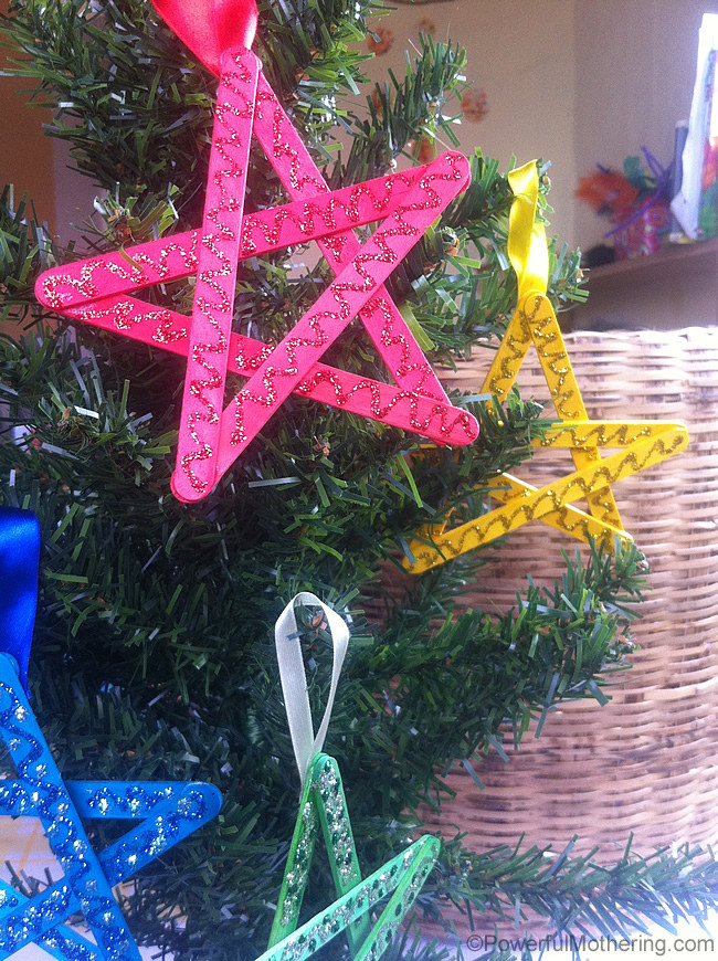 Craft To Make For Christmas  Easy Christmas Crafts for Kids Craft Stick Stars