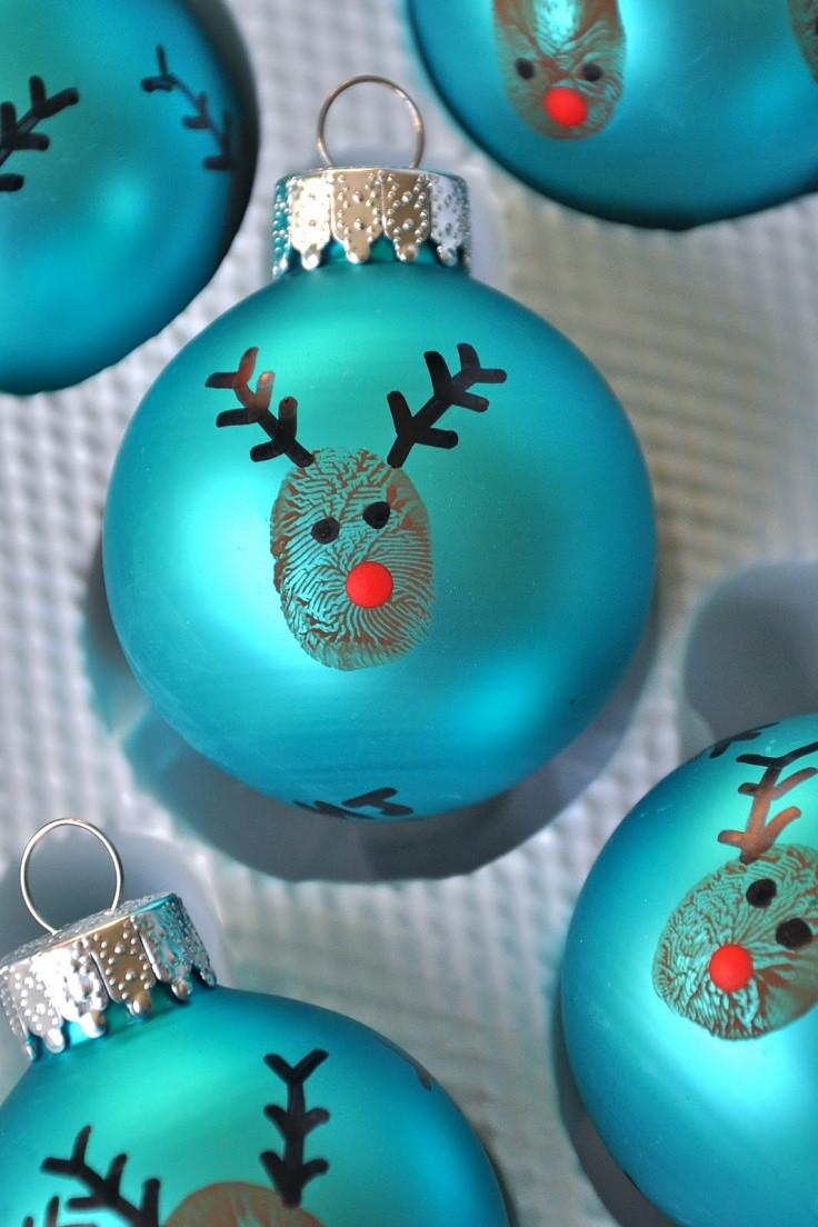 Craft To Make For Christmas  Top 10 DIY Christmas Ornaments