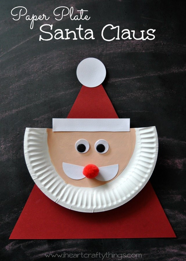 Craft To Make For Christmas  Paper Plate Christmas Crafts U Create