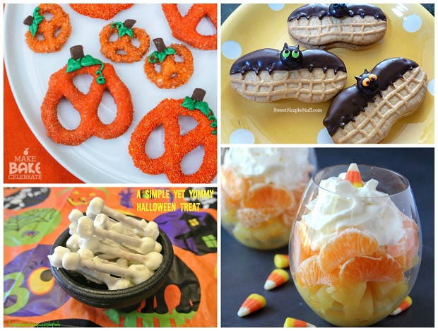 Creative Halloween Food Ideas  Easy Halloween Snacks for Kids Crafty Morning