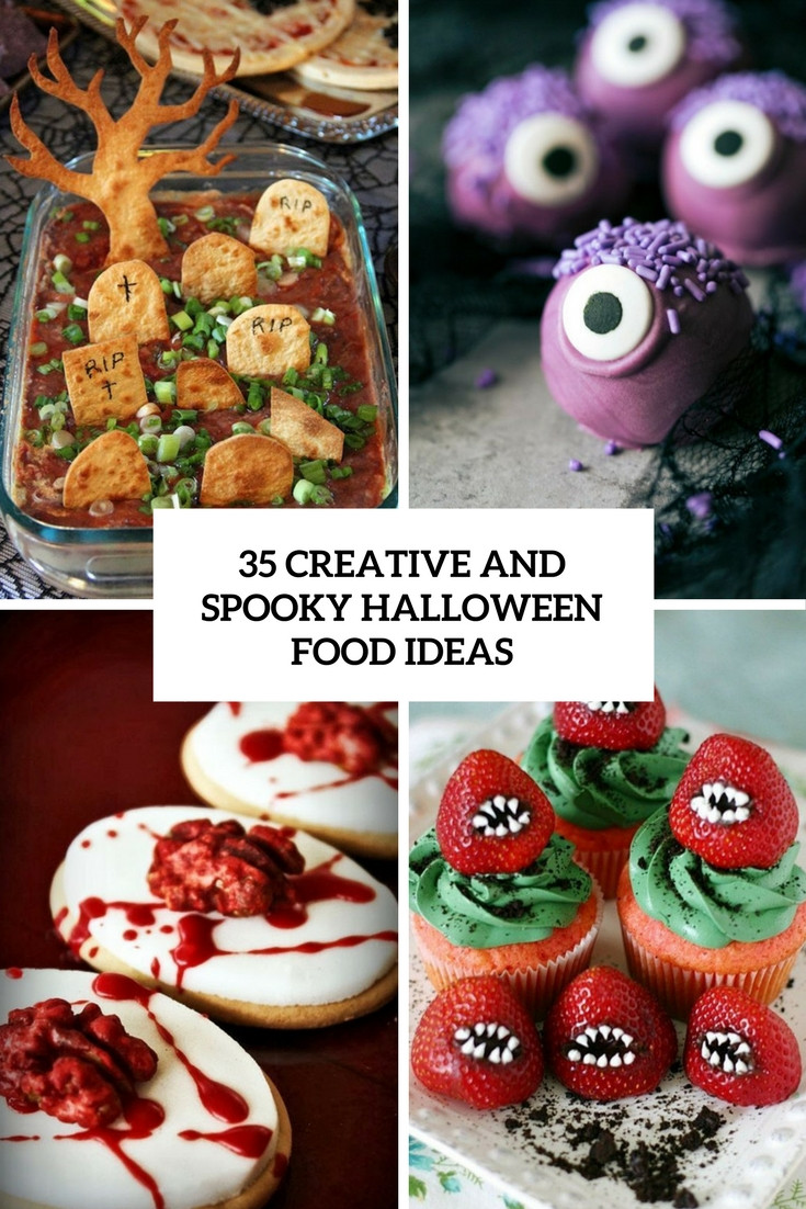 Creative Halloween Food Ideas  35 Creative And Spooky Halloween Food Ideas Shelterness
