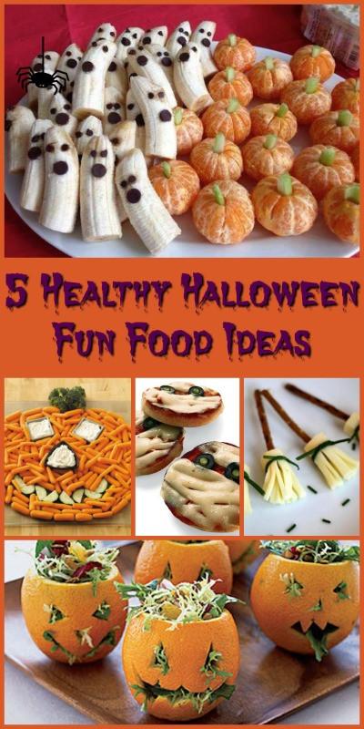 Creative Halloween Food Ideas  5 Healthy Halloween Fun Food Ideas