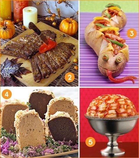 Creative Halloween Food Ideas  Creative Dinner Ideas food Pinterest