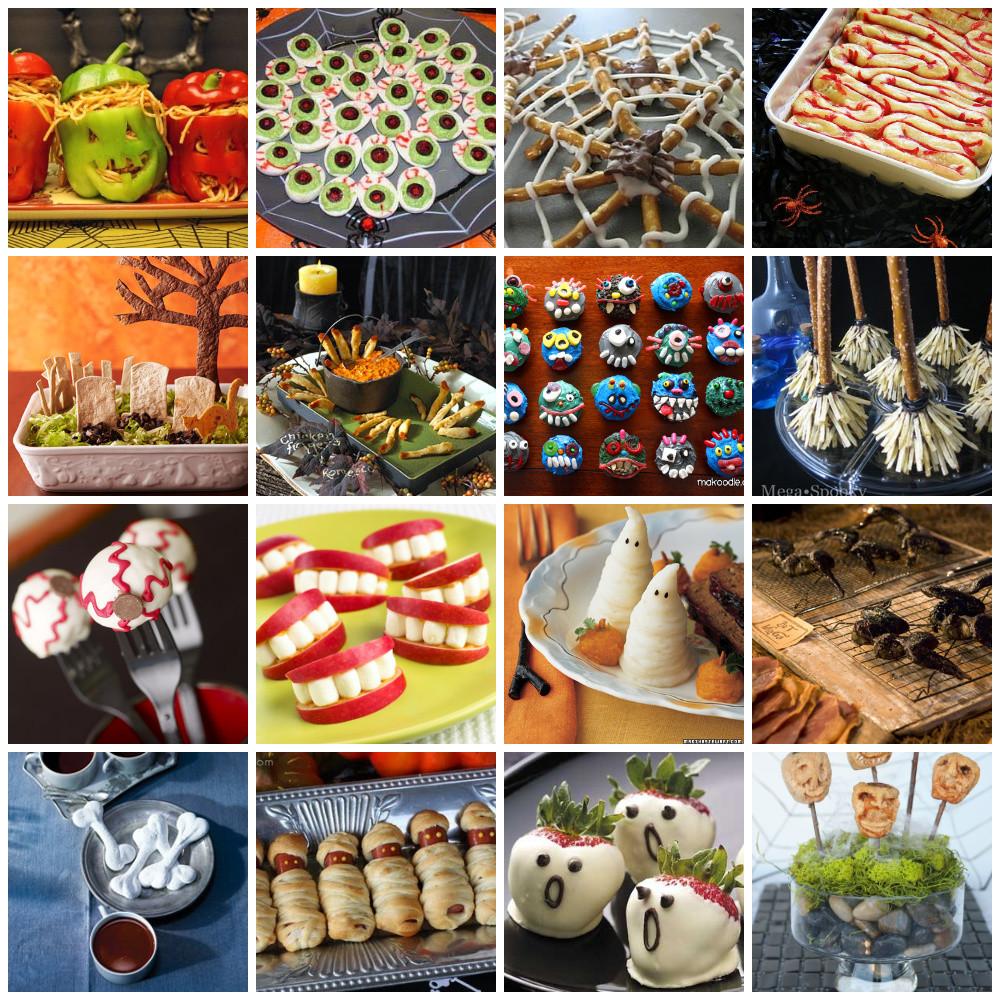 Creative Halloween Food Ideas  6 Easy Quick Kids Party Food Ideas