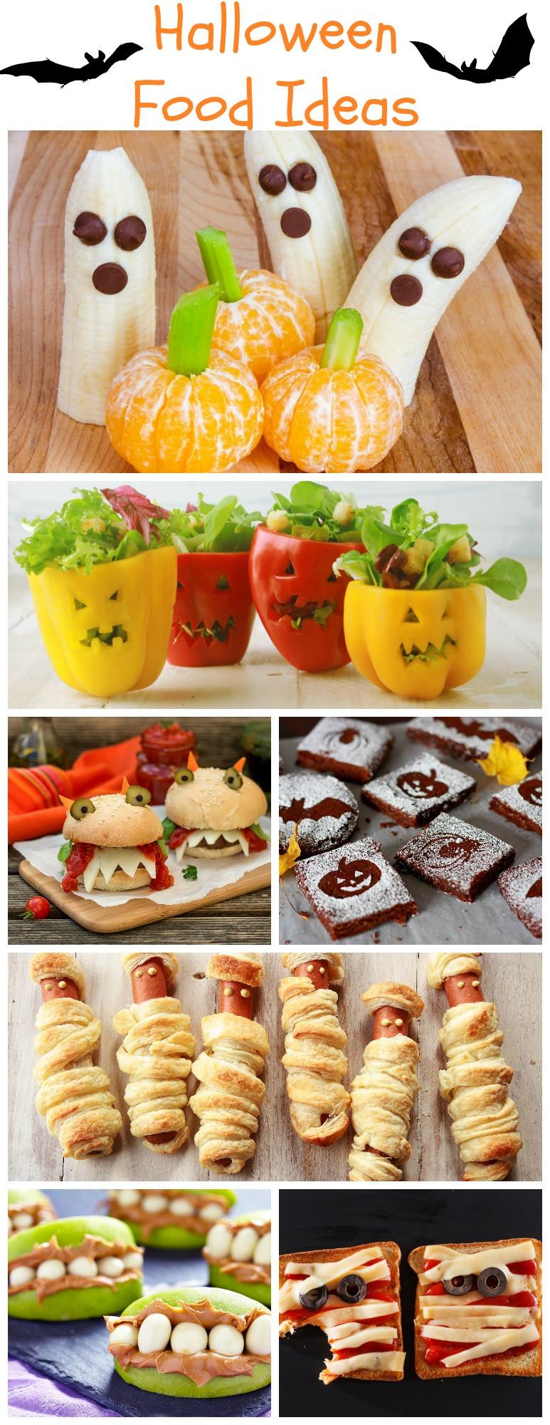 Creative Halloween Food Ideas  Halloween Food Ideas Your Kids Will Love Rustic Baby Chic