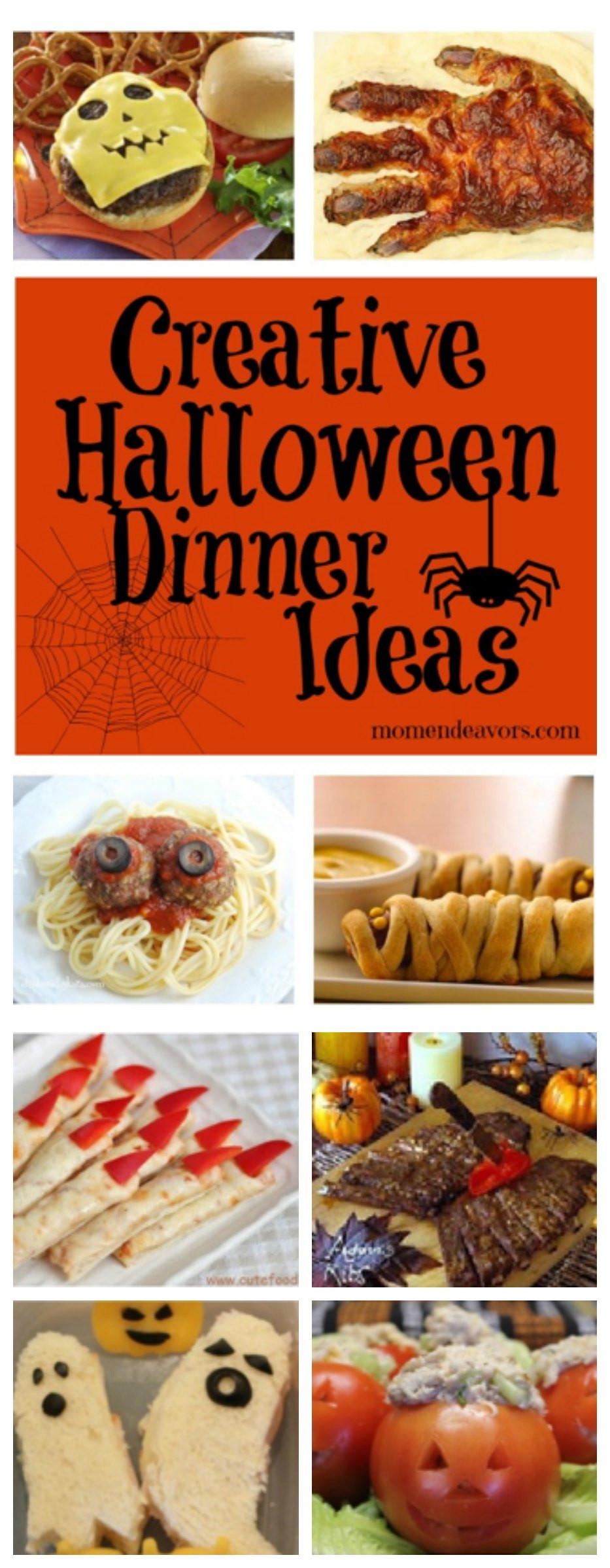 Creative Halloween Food Ideas  15 Creative Halloween Dinner Ideas
