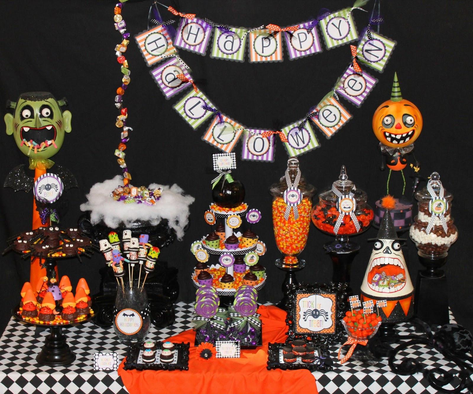 Creative Halloween Party Ideas  Halloween Party Inspiration 10 Creative Designs