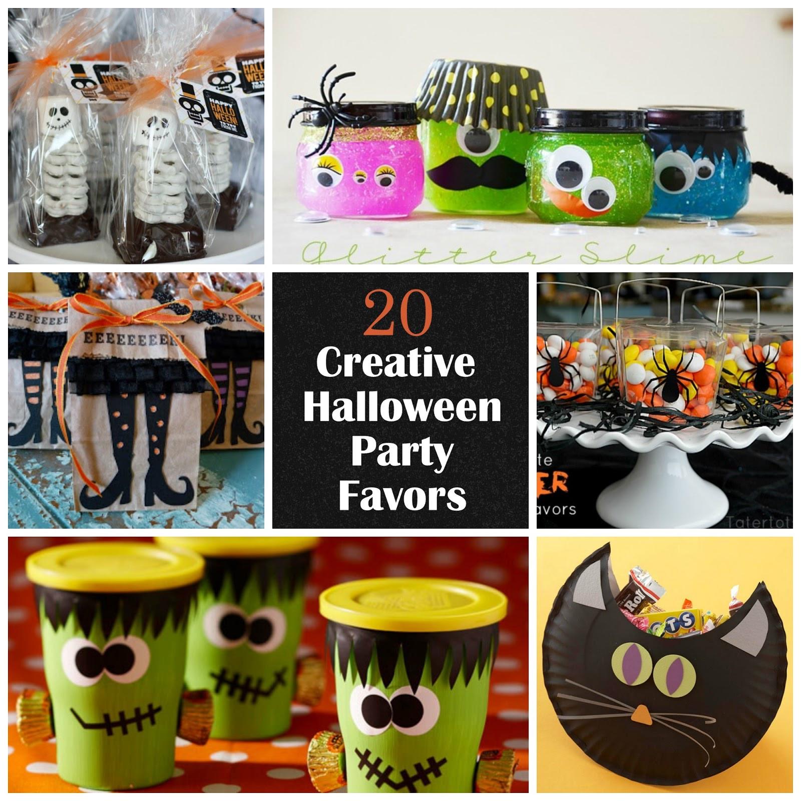 Creative Halloween Party Ideas  20 Creative Halloween Party Favors I Dig Pinterest