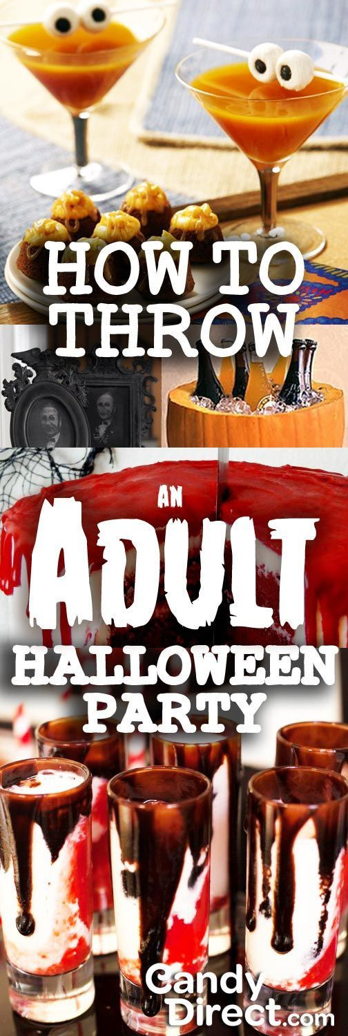 Creative Halloween Party Ideas  How To Throw An Adult Halloween Party CandyDirect