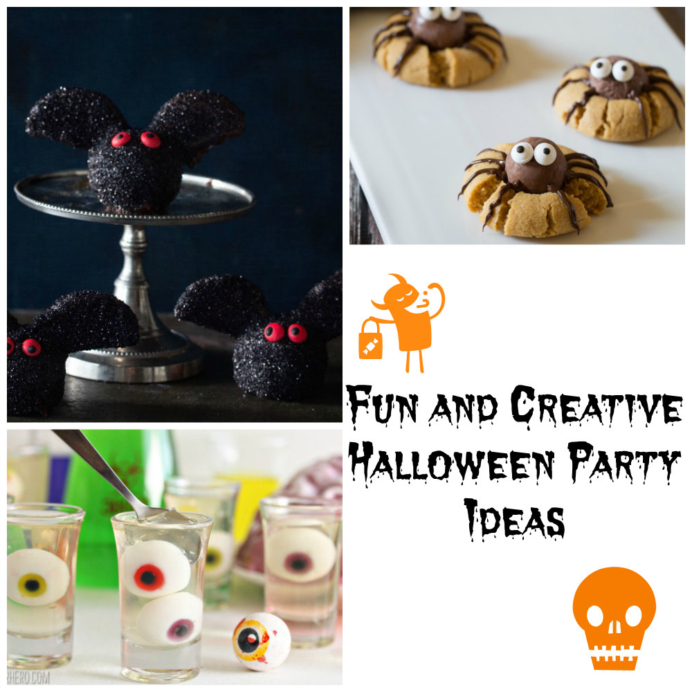 Creative Halloween Party Ideas  Fun and Creative Halloween Party Ideas