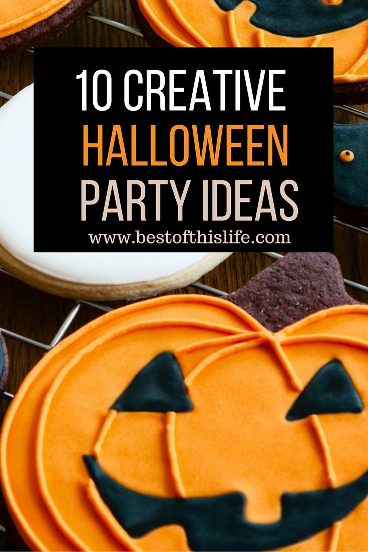 Creative Halloween Party Ideas  10 Creative Halloween Party Ideas