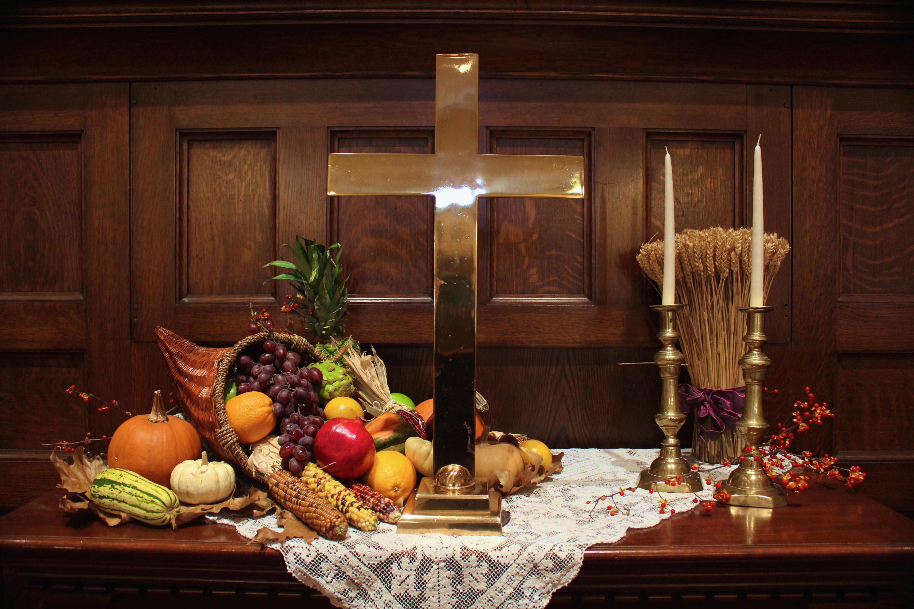 Creative Worship Ideas For Thanksgiving  Altar Design