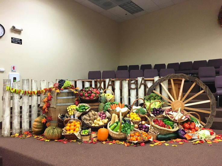 Creative Worship Ideas For Thanksgiving  8 best church Thanksgiving images on Pinterest