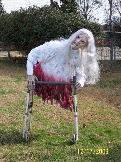 Creepy Outdoor Halloween Decorations  11 Horrifying Halloween Decorations Designed To Scare