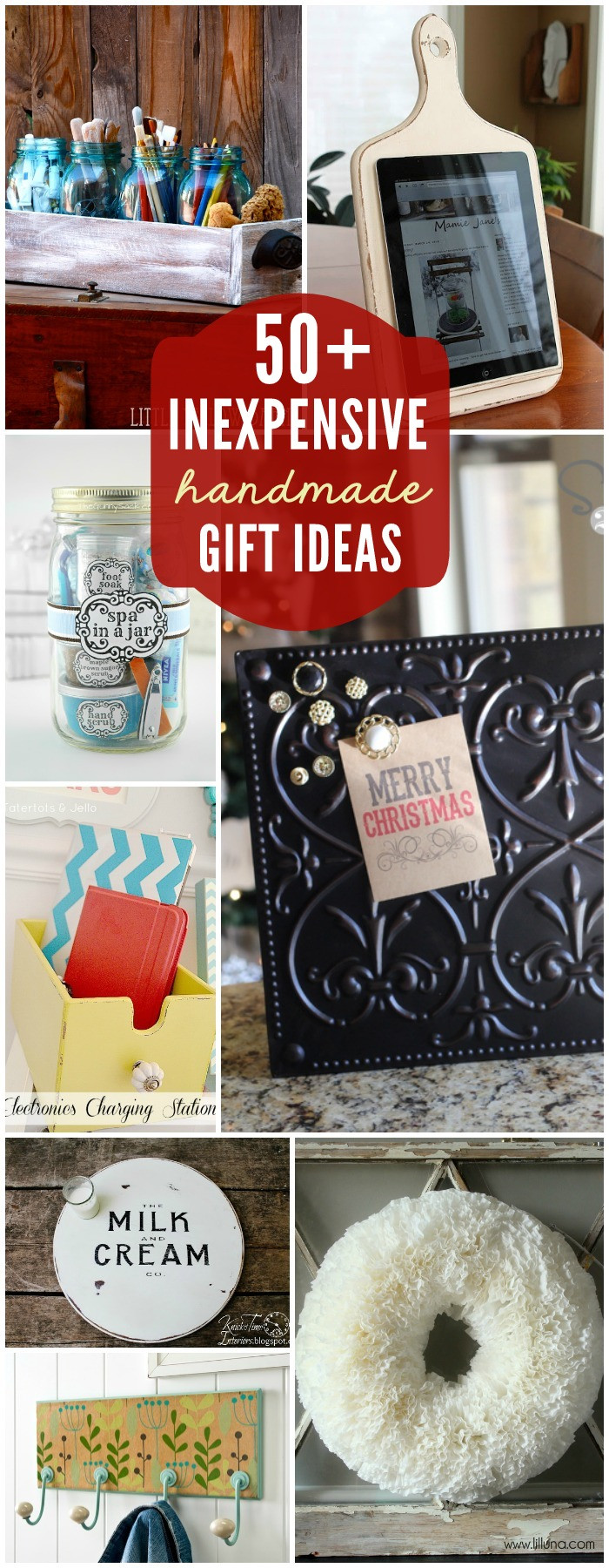 Cute DIY Christmas Gifts  75 Gift Ideas under $5