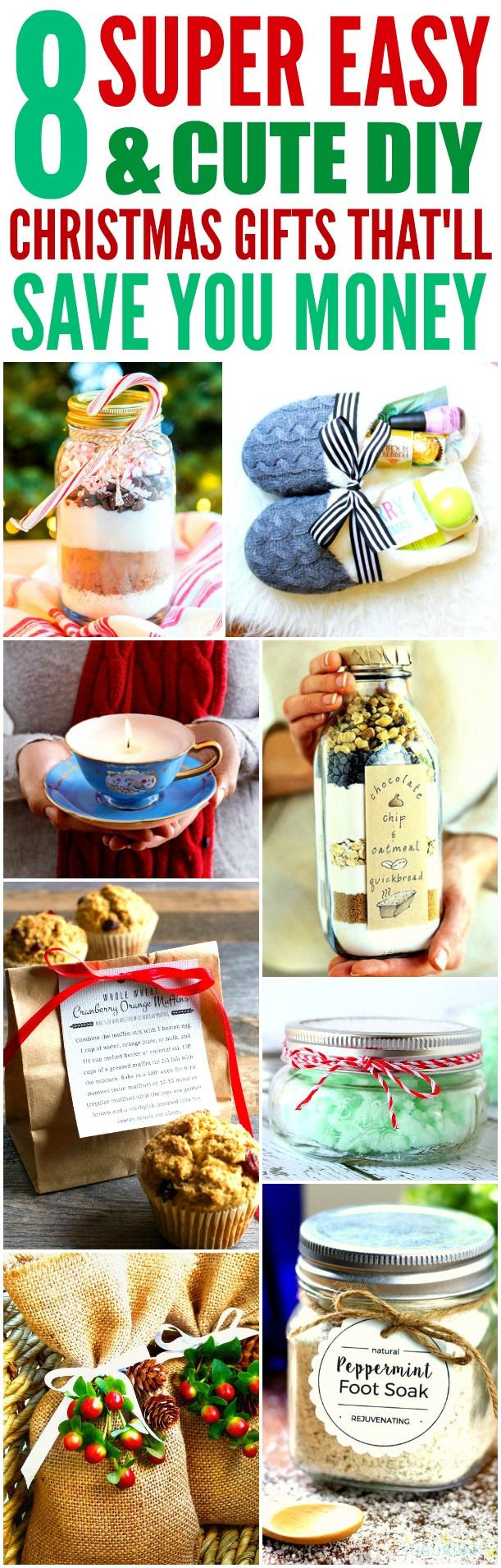 Cute DIY Christmas Gifts  Best 25 Small ts for friends ideas on Pinterest