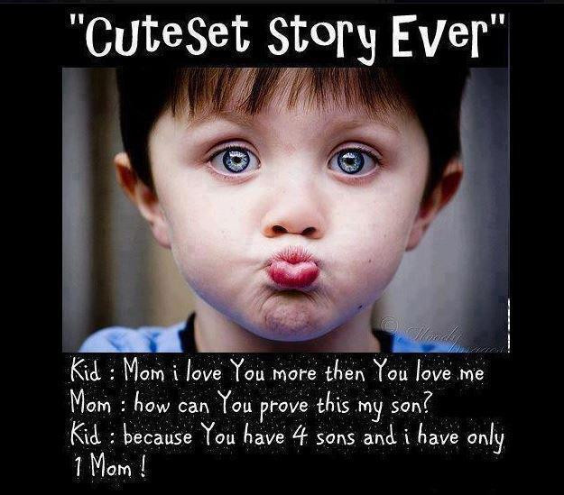Cute Mother Son Quotes  100 Funny Good Morning Quotes for Friends