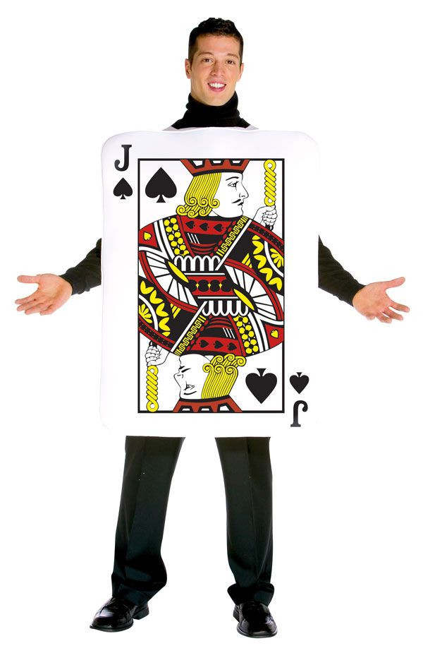 """Deck Of Cards Halloween Costumes  Costumes for Jack """"Jack"""" of Spades Costumes"""