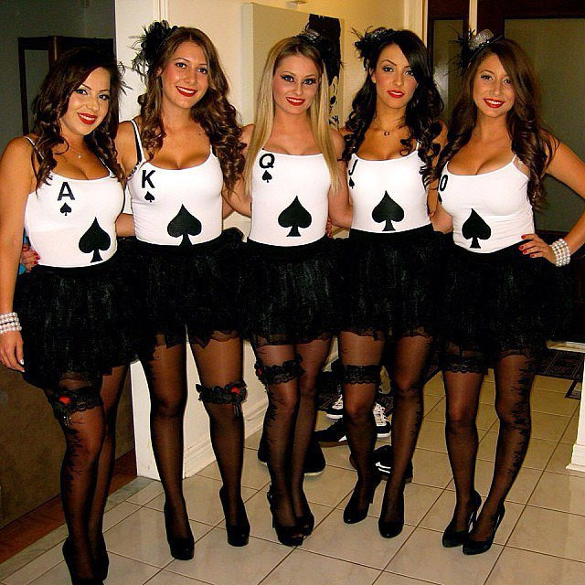 Deck Of Cards Halloween Costumes  10 Unique DIY Halloween Costume Ideas for You and Your