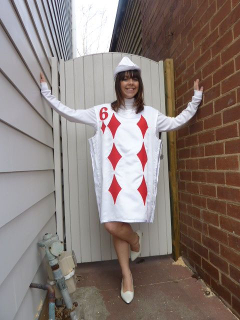 Deck Of Cards Halloween Costumes  11 best images about Playing card costume on Pinterest