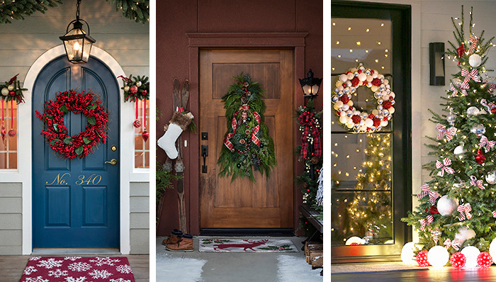 Decorate Front Porch For Christmas  Christmas Decor for Front Porches