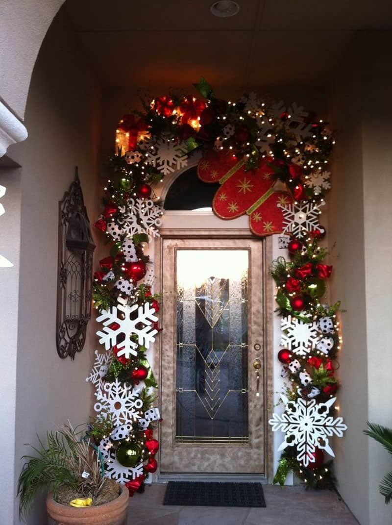 Decorate Front Porch For Christmas  40 Stunning Christmas Porch Ideas